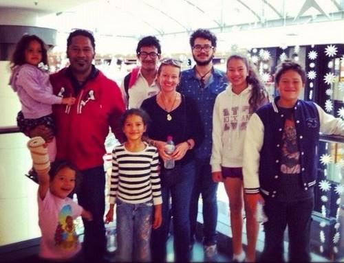 Jay en vacance en NZ