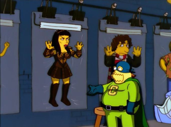 Xena in The Simpson 2