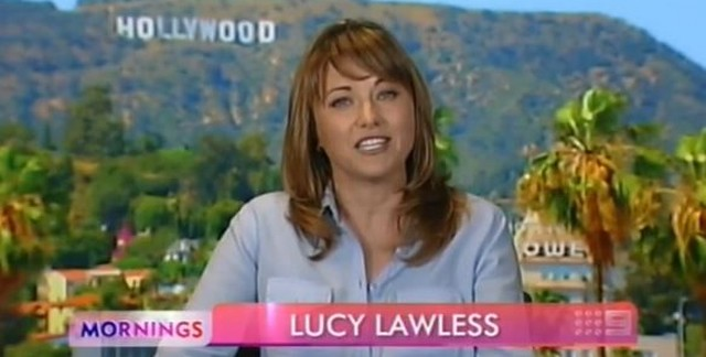 lucy lawless in mornings2013