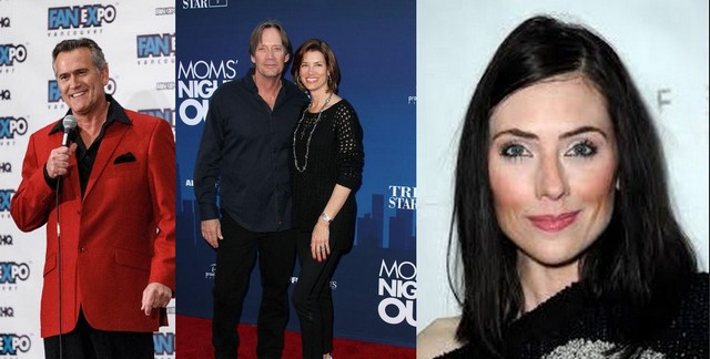 adrienne  bruce campbell & kevin sorbo
