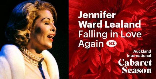 Jennifer Ward-Lealand in falling in love again