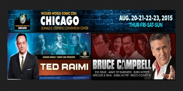 Ted Raimi et Bruce Campbell à la Wizard World Con de Chicago