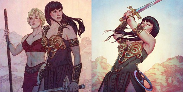 xena warrior princess 4 and 5